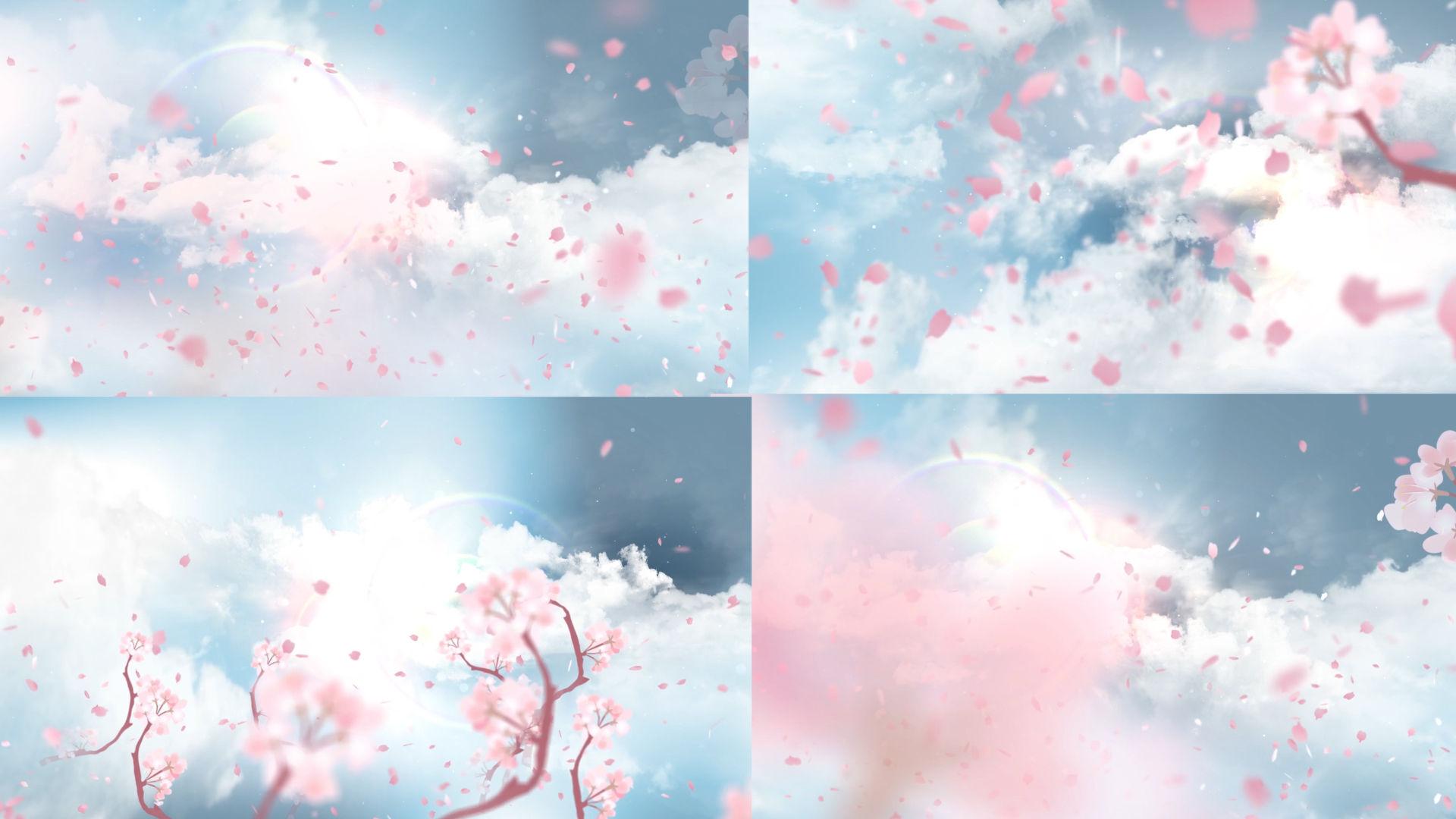 大气唯美梦幻LED背景视频