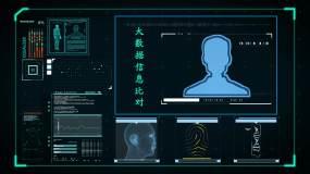 【原创】人脸识别_大数据比对查询_视频视频素材