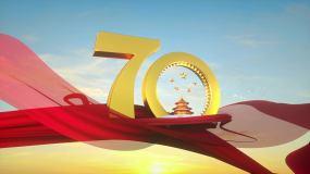新中国成立70周年震撼唯美片头视频素材视频素材