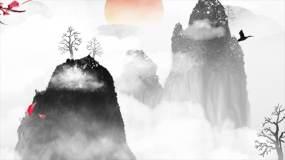 中国风水墨意境山水AE模板AE模板