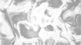 白色液体流动循环背景视频视频素材