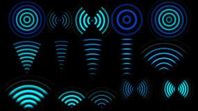 22款电波脉信号扩散素材_2K带透明通道视频素材包