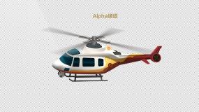 MG动画卡通仿真祥云航拍直升飞机透明通道永利官网网址是多少包
