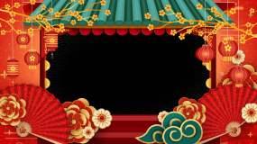 前景喜庆春节透明带通道视频素材