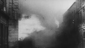 轰炸城市视频素材