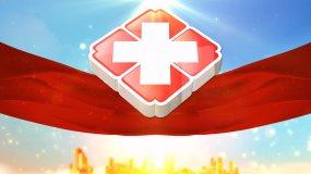 大气世界红十字日片头-2视频素材