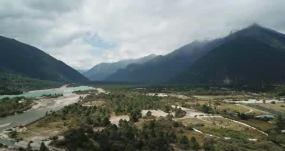 航拍西藏林芝市尼洋河风光预览永利官网网址是多少包