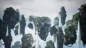 【4K】阿凡达风格漂浮仙山背景素材永利官网网址是多少