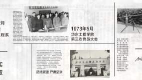 复古历史新闻报纸图文展示排版AE模板