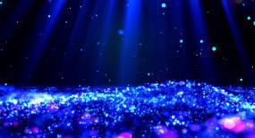 唯美大气蓝色闪烁粒子舞台背景永利官网网址是多少