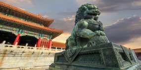 北京古建筑青铜狮子永利官网网址是多少永利官网网址是多少