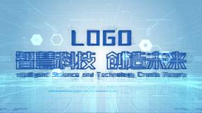 蓝色科技AE模板
