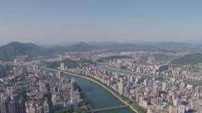 韶关城市航拍图视频素材