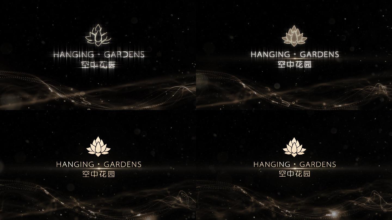 金色logo演绎