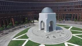 天津大学4K航拍视频素材