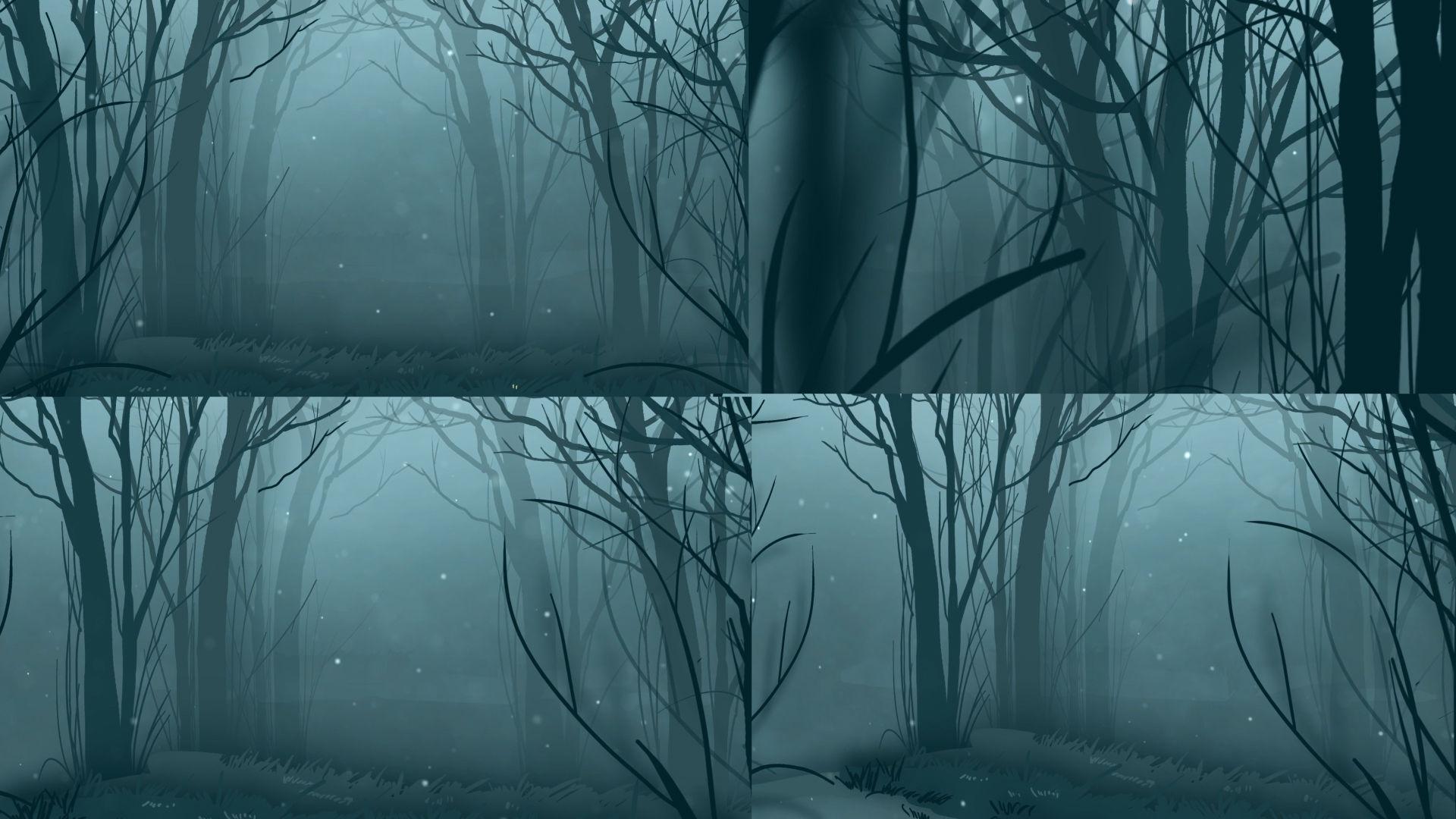 大氣森林仙境LED舞臺背景