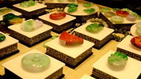 玉器珠宝首饰展示奢侈品玉器展示视频素材