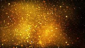 黑金大气简约光效粒子背景视频素材