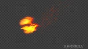 火凤凰飞升(带alpha透明通道)视频素材包