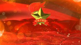 少先队红领巾心向党无字视频视频素材