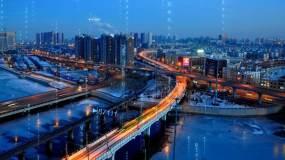 【视频】吉林长春科技未来城市视频素材