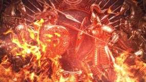 4K特洛伊古代欧洲战争背景循环视频素材