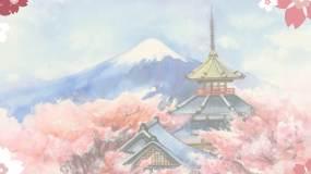 樱花知识科普mg动画视频素材视频素材