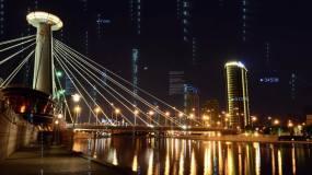【视频】黑龙江哈尔滨未来科技城市视频素材