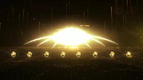 金色大气震撼启动仪式视频ae模版AE模板