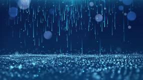蓝色粒子雨背景循环永利官网网址是多少