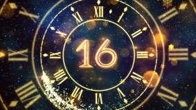 2020年30秒新年倒计时视频素材