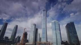中国北京地标城市经济北京交视频素材