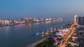 都市白天和夜景延时摄影永利官网网址是多少