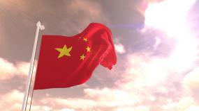 五星红旗飘扬晚霞永利官网网址是多少永利官网网址是多少