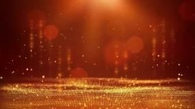 舞台金色颁奖循环视频素材