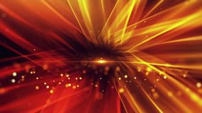 唯美大气金红色流光背景LED视频视频素材