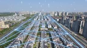 交通监控智慧城市大数据跟踪天眼AE模板