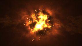 火焰火爆炸特效视频素材