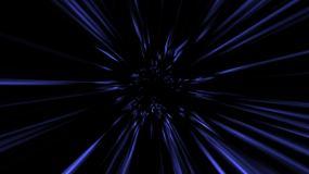 光波隧道穿行循环视频素材