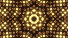 經典復古金色舞臺燈光動感背景視頻素材