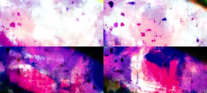 抽象经典复古色彩光影摇滚民谣