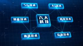 科技分类第四版三到十大类别完整版AE模板