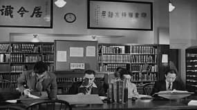民国时期私立学校图书馆化验室医院视频素材