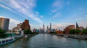 4k上海延时摄影视频素材