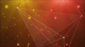 點線幾何科技背景循環視頻素材