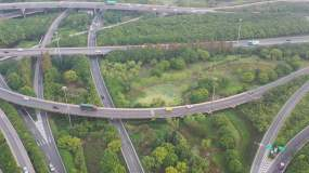 4K原素材-上海环东二大道立交桥永利官网网址是多少