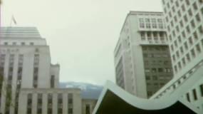 1967年香港建筑街景-维多利亚港湾视频素材