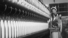 60年代天津纺织厂工厂婴儿视频素材