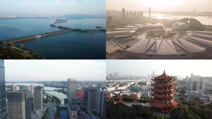 武汉城市延时航拍