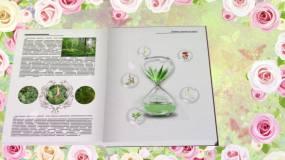 植物精华化妆品成分介绍AE模板